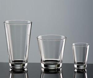 Konisches Trinkglas