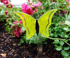 Gelber Schmetterling Fusingglas
