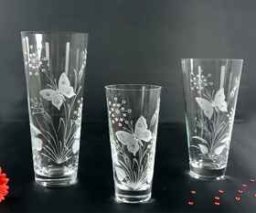 Buttterfly Vase konisch