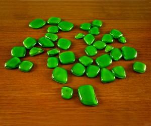 Grüne Fusingplättchen