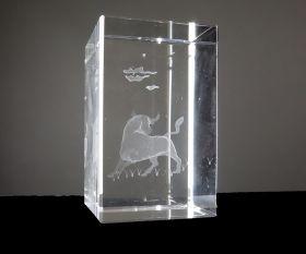 Büffel 3D Laserquader