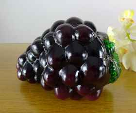 Weintraube aus Glas