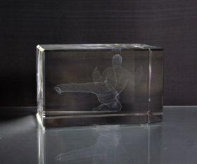 3D-Laserwürfel Karate