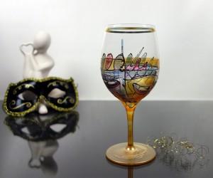 Rotweinglas Venezia