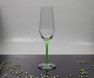 Sektkelch grün Newpastell