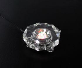 Kristallsockel aus Glas