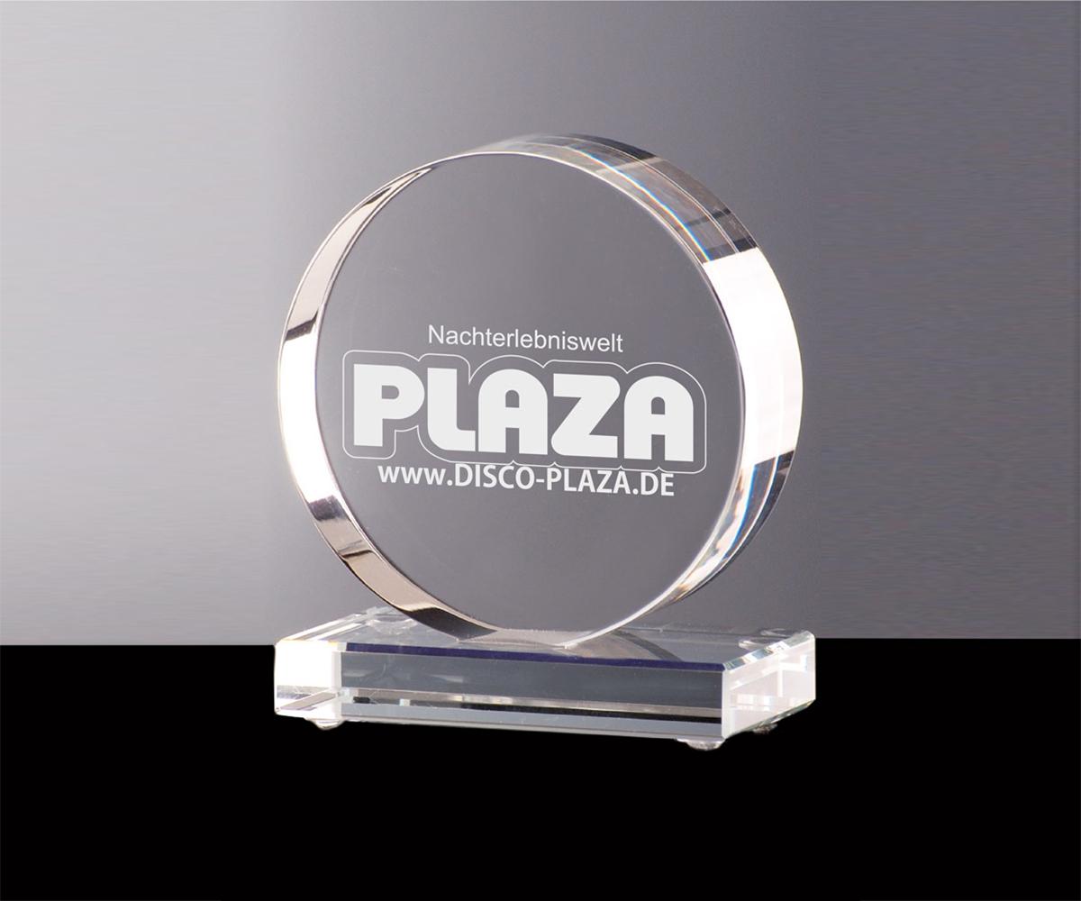 Puck Aus Kristallglas Sportpokale Pokale Joska