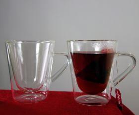 doppelwandiges Teeglas