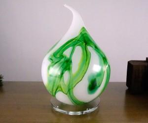 Spitzkugel Jadegrün