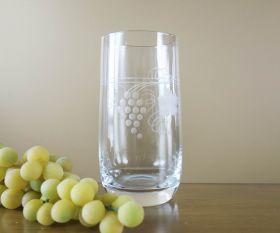 Saftglas Weinlaub