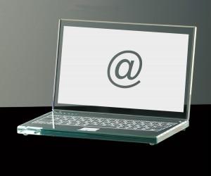 Kristall-Laptop