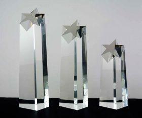Glasblock mit Stern