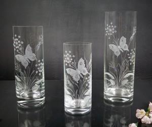 Butterfly Vase Zylindrisch