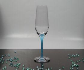 Newpastell blau Sektkelch