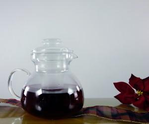 Teekanne mit Glaseinsatz